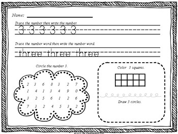 RTI Math for Kindergarten