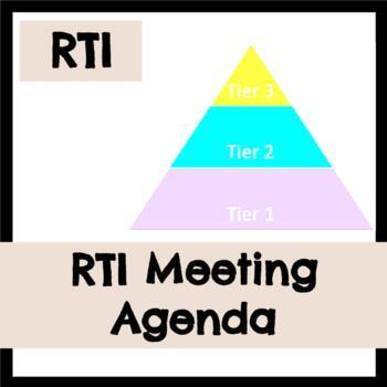 RTI Meeting Agenda