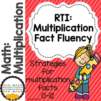 RTI: Multiplication Review for Grades 3-5