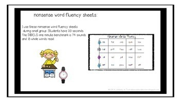 RTI: Nonsense Word Fluency Activities