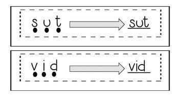 RTI: Nonsense Word Fluency Activities