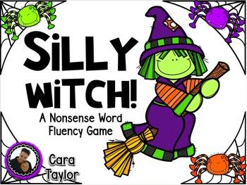 RTI Nonsense Word Fluency Halloween