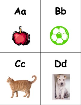 RTI Number and ABC Flash Cards