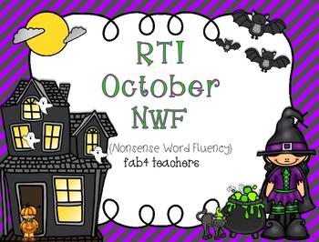 RTI October Nonsense Word Fluency