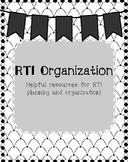 RTI Organization and Planning
