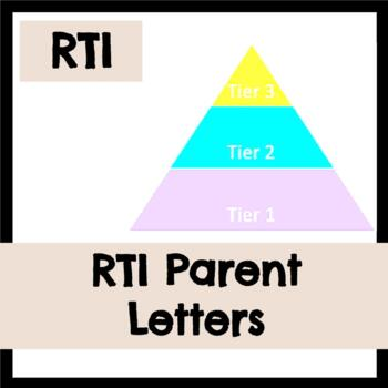 RTI Parent Letters Home