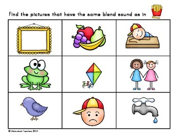 RTI : Phonemic Awareness Blends and Digraphs
