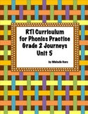 RTI Phonics for Journeys Grade 2 Unit 5