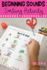 Beginning Sounds Activities (Low-Prep)