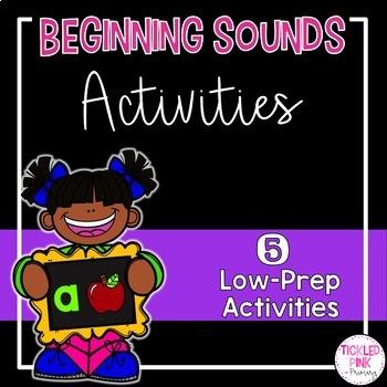 Beginning Sounds Activities (Low-Prep)