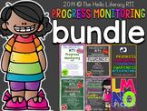 RTI: Progress Monitoring BUNDLE for Literacy Interventions