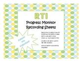 RTI Progress Monitoring Charts