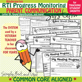 RTI Progress Monitoring (Letter ID, Sound Identification, & More!)