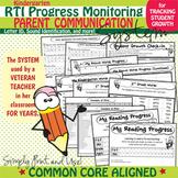 RTI Progress Monitoring (Letter ID, Sound Identification,
