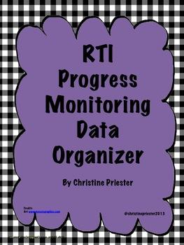 RTI Progress Monitoring Organizer