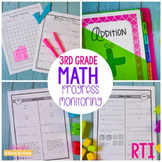 Third Grade RTI Math Progress Monitoring-RTI Probes