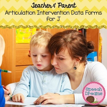 Teacher and Parent Articulation Response to Intervention Data Forms J FREE