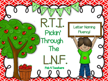 RTI September Letter Naming Fluency ~ LNF