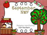 RTI September Nonsense Word Fluency