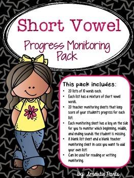 RTI: Short Vowel Progress Monitoring