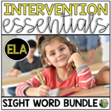 Sight Word Fluency Essentials BUNDLE: Intervention and Small Group Resources