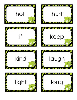 RTI Sight Word Intervention Kit