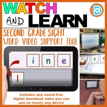 RTI | Second Grade Sight Word Fluency Tool | Line