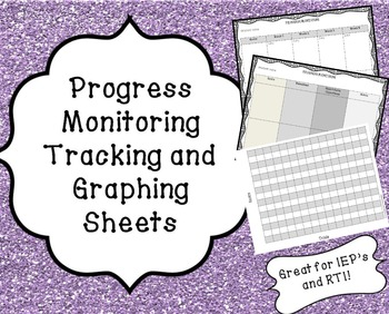 RTI/Special Education Progress Monitoring & Graphing