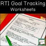 RTI Data Tracking Worksheets