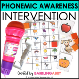 RTI Toolkit: Phonemic Awareness Intervention Curriculum