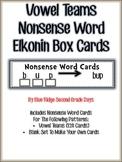 Vowel Team Nonsense Word Elkonin Box Cards