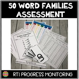 RTI Word Family Assessments