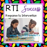 RTI.  Reading progress tracked for data