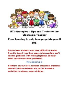 RTI for Elementary Educators