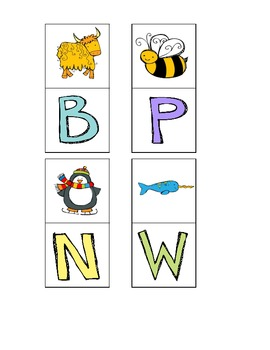 RTI letter and letter sounds game (k-1)