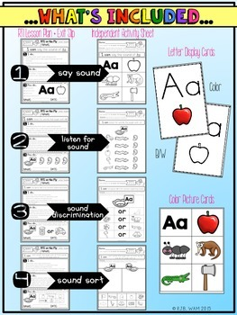 RTI on the Fly:  Letter Sounds Freebie