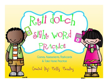 RTII Dolch Words Resource