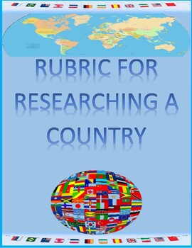 My Country Rubric