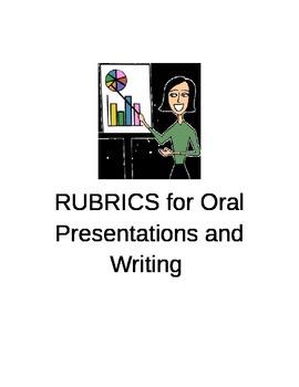 RUBRICS:  Oral Presentation and Writing