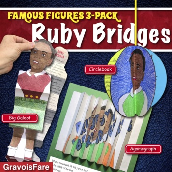 RUBY BRIDGES ACTIVITIES: 3 Hands-On Projects and Foldable Craftivities