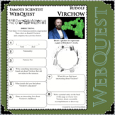 RUDOLF VIRCHOW Science WebQuest Scientist Research Project Biography Notes