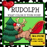 RUDOLPH CHRISTMAS EARLY READER Literacy Circle SANTA