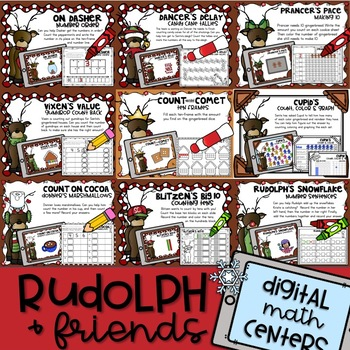 RUDOLPH and FRIENDS Digital MATH Centers