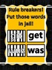 RULE BREAKERS 'GET' AND 'WAS' POSTER