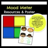 Mood Meter- Posters, problem solving sheet, and interactiv