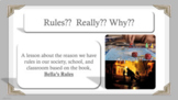 RULES? WHY RULES? based on Bella's Rules book Ready 2 Use
