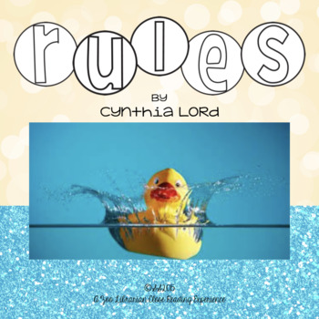 rules by cynthia lord novel study close reading study common core rh teacherspayteachers com Rules by Cynthia Lord Questions Rules by Cynthia Lord Movie