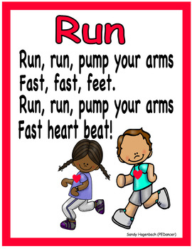 RUN Locomotor Poster