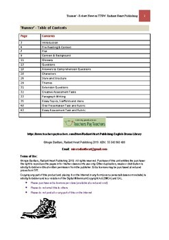 RUNNER Teacher Text Guide and Worksheets