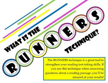 RUNNERS Bulletin Board Poster